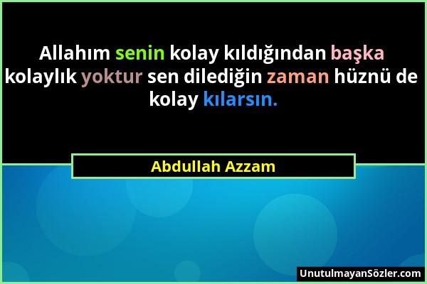 Abdullah Azzam Sözü 1