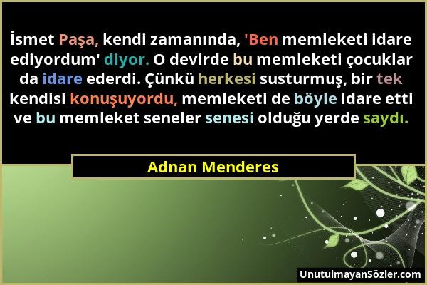 Adnan Menderes Sözü 13