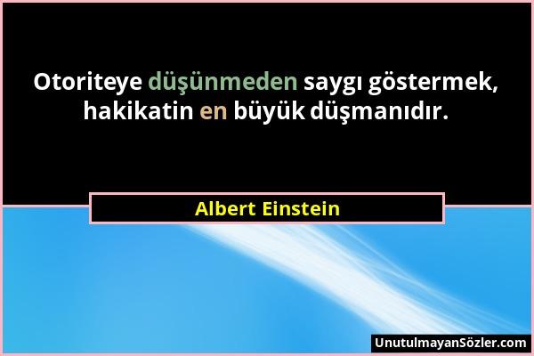 Albert Einstein Sözü 130