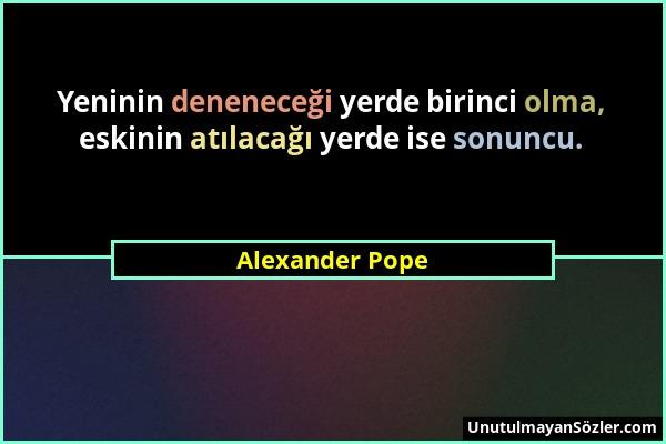 Alexander Pope Sözü 22