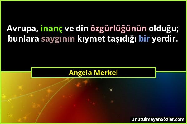 Angela Merkel Sözü 1