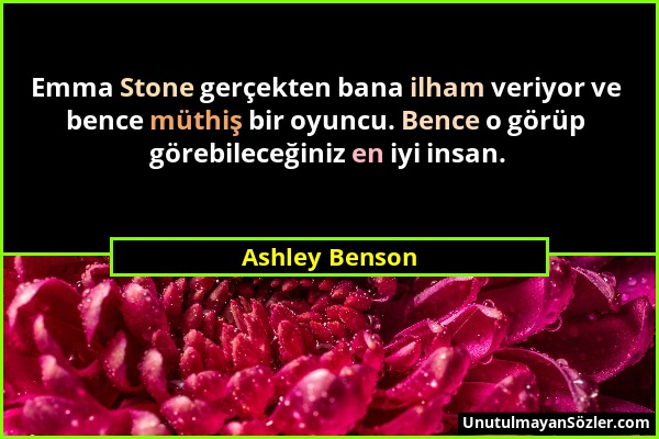 Ashley Benson Sözü 2