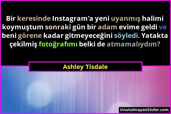 Ashley Tisdale Sözü 1