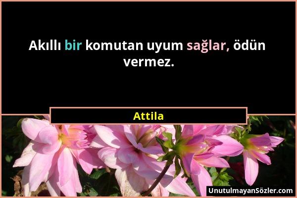 Attila Sözü 1