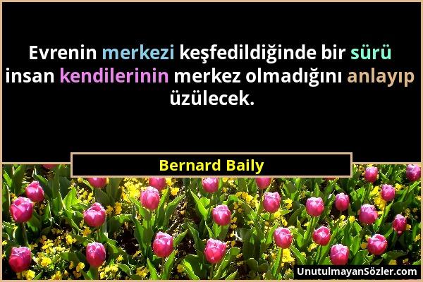 Bernard Baily Sözü 1