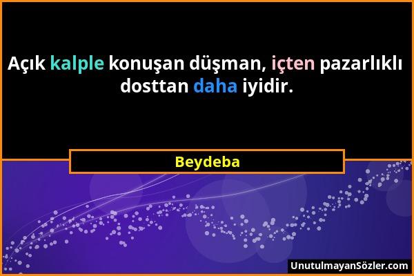 Beydeba Sözü 1