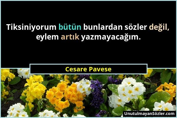 Cesare Pavese Sözü 32