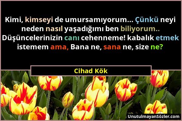 Cihad Kök Sözü 6