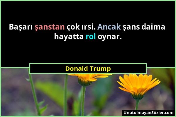 Donald Trump Sözü 1