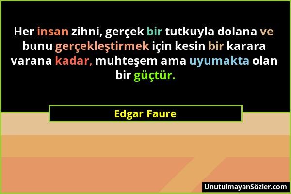 Edgar Faure Sözü 1