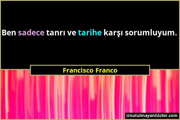 Francisco Franco Sözü 1