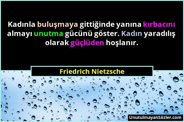 Friedrich Nietzsche Sözü 264