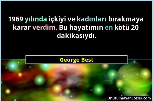 George Best Sözü 1