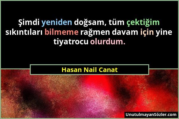 Hasan Nail Canat Sözü 46