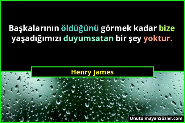Henry James Sözü 1