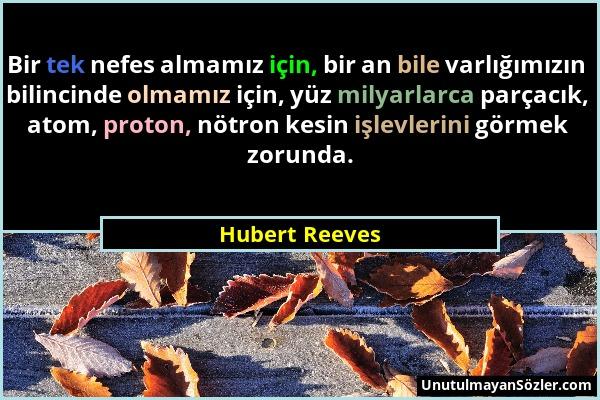 Hubert Reeves Sözü 1