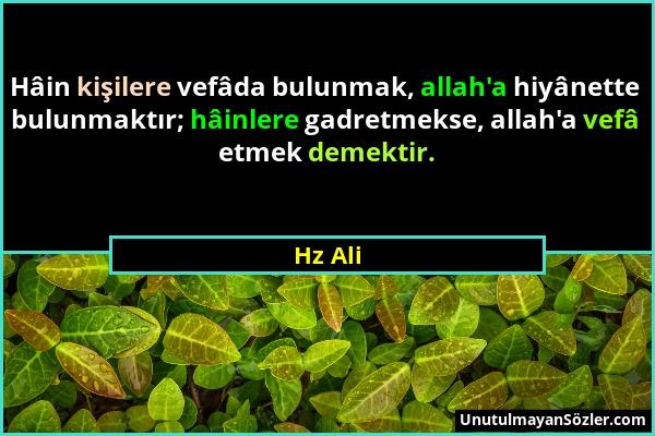 Hz Ali Sözü 112