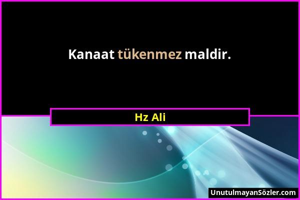 Hz Ali Sözü 171
