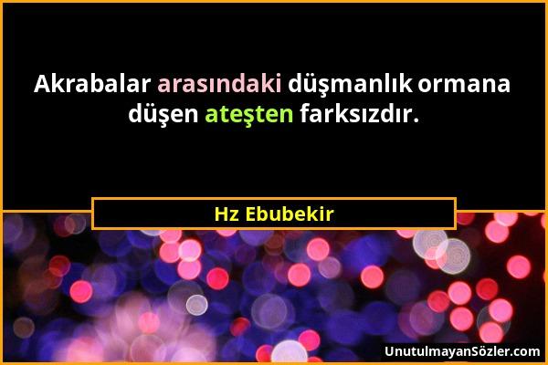 Hz Ebubekir Sözü 1