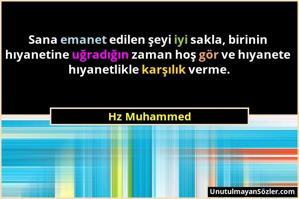 Hz Muhammed Sözü 256