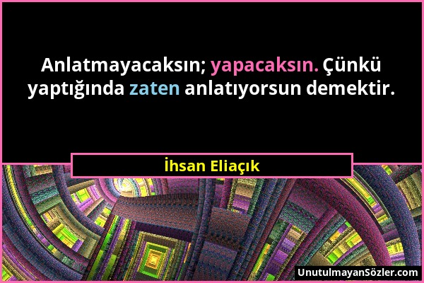 İhsan Eliaçık Sözü 1