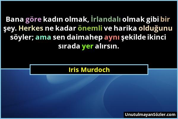 Iris Murdoch Sözü 1