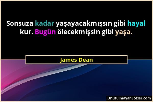 James Dean Sözü 1