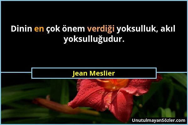 Jean Meslier Sözü 10