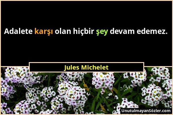 Jules Michelet Sözü 1