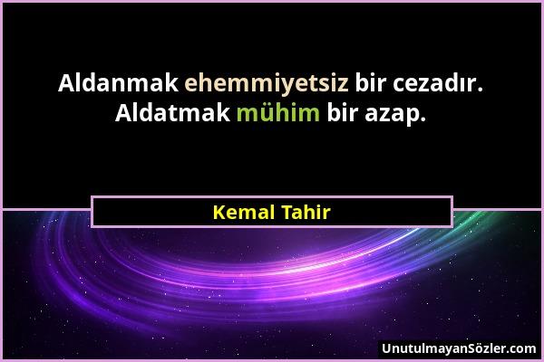 Kemal Tahir Sözü 1