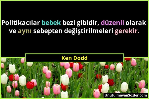 Ken Dodd Sözü 1