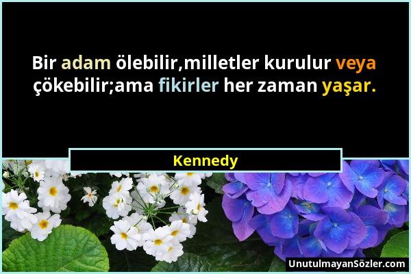 Kennedy Sözü 1