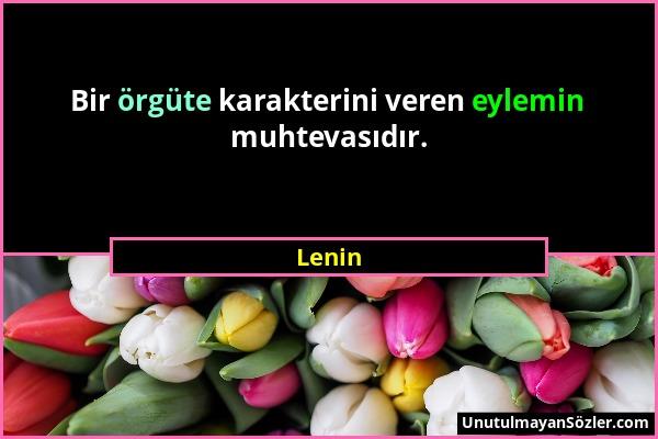 Lenin Sözü 1