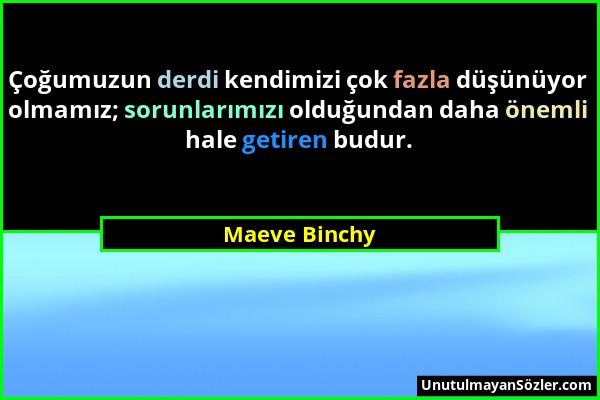 Maeve Binchy Sözü 10