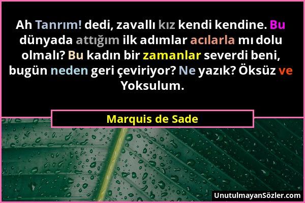 Marquis de Sade Sözü 1