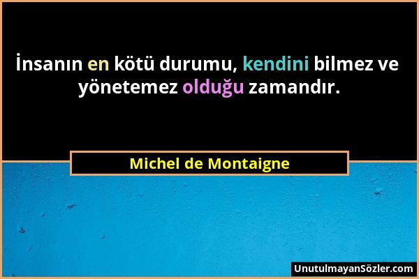Michel de Montaigne Sözü 69
