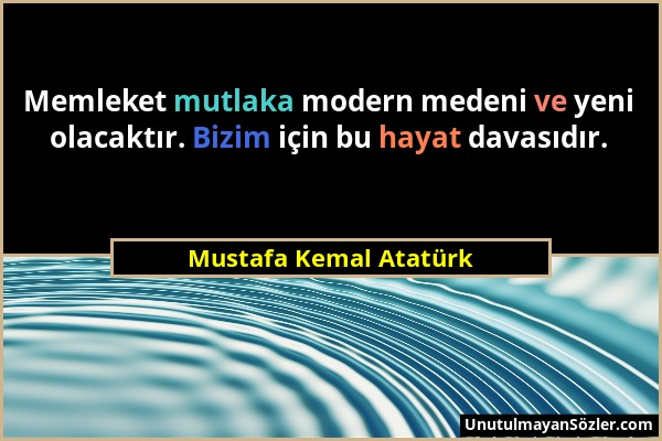 Mustafa Kemal Atatürk Sözü 104