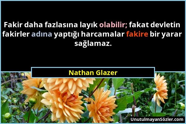 Nathan Glazer Sözü 1