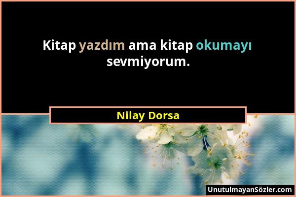 Nilay Dorsa Sözü 1