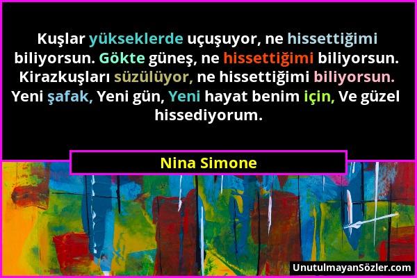 Nina Simone Sözü 1