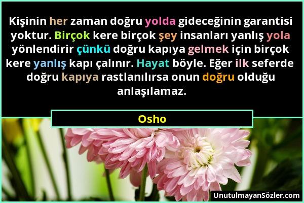 Osho Sözü 185