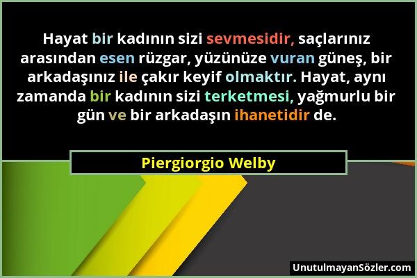 Piergiorgio Welby Sözü 1