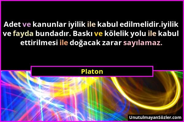 Platon Sözü 1