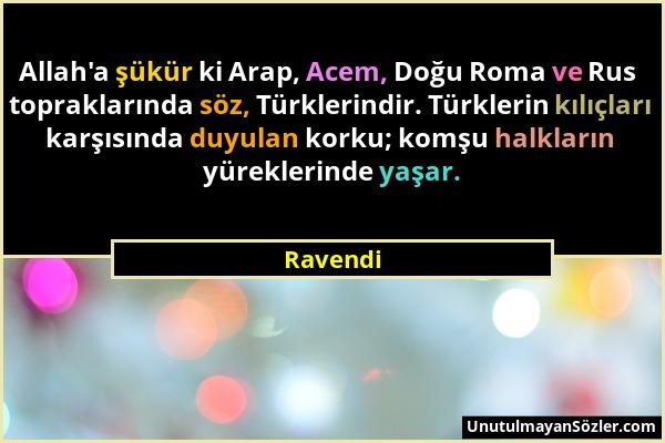 Ravendi Sözü 1
