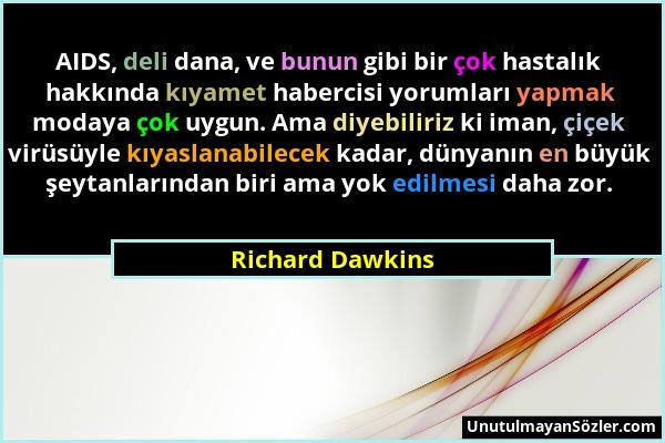 Richard Dawkins Sözü 1