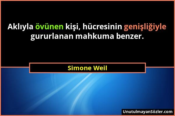 Simone Weil Sözü 1
