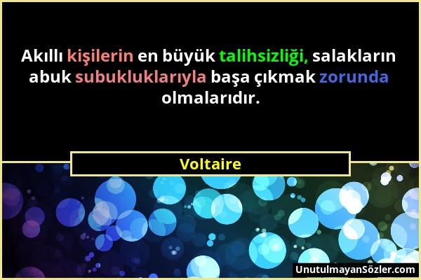 Voltaire Sözü 1