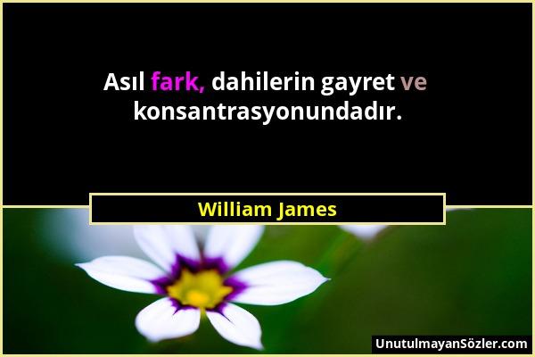 William James Sözü 1