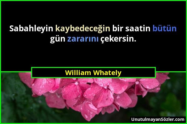 William Whately Sözü 1