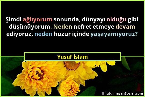 Yusuf İslam Sözü 2